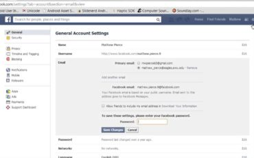How To Add or Remove Email From Your Facebook Account?