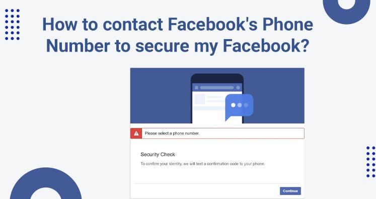 How To Contact Facebook Phone Number