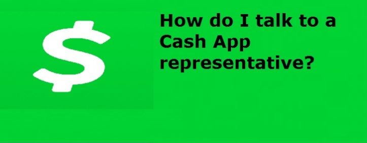 How do I talk to a Cash App representative