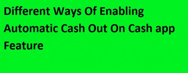 Cash Out On Cash App