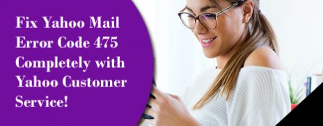 Fix Yahoo Mail Error Code 475