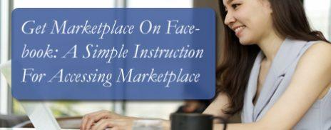 Get Marketplace On Facebook