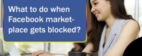 unblock my marketplace on Facebook